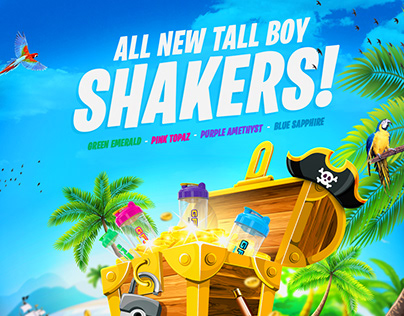 GFUEL TALL SHAKERS
