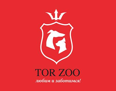 Branding & Identity for TOR ZOO pet shop