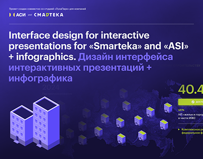 Interface design for interactive presentations