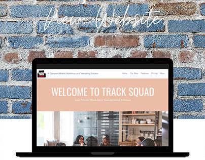 Website Design & Development for TrackSquad
