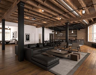 Franklin street loft