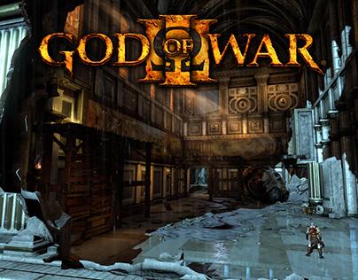 God of War 3 (2010) Hermes Death Room Environment Art