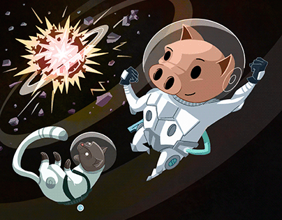 Pork in Outer Space!