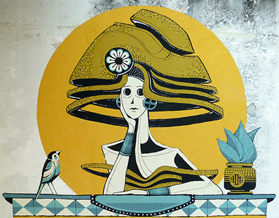Iara // Mural