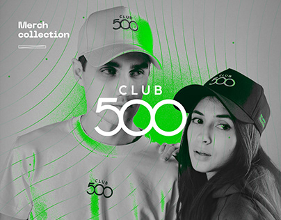 Club 500. Merch collection