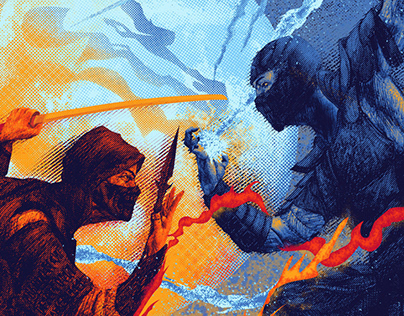 Mortal Kombat - Poster Design