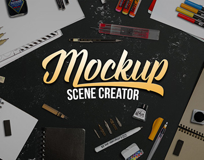 Lettering / Sketch Mockup Generator