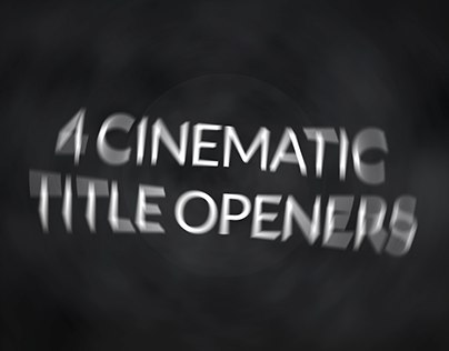 Cinematic Logo Title Openers Template