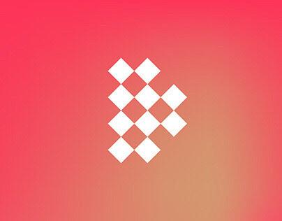 LiveDinner logo, visual identity