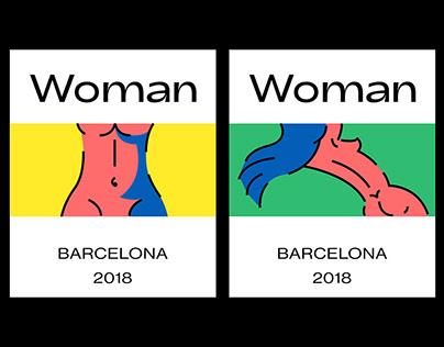 Woman - Non profit illustration project