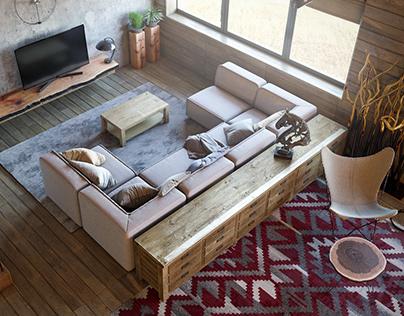 country house Team: Partner Design Location: Kiyv