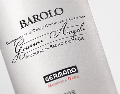 Germano Angelo Label Design