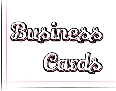 Business Card Desgins