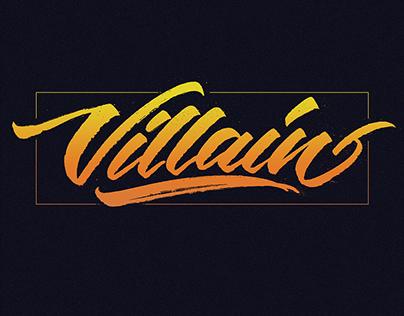 Design Logo 'Villain'