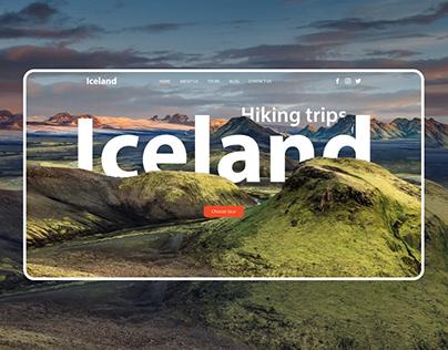 Тravel agency website| UI/UX design