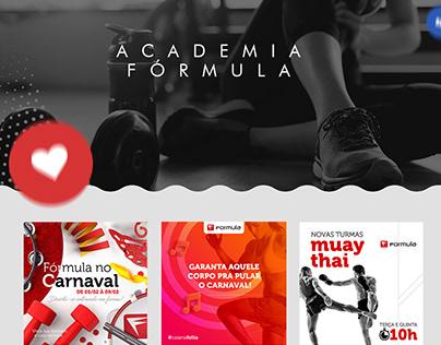 Redes Sociais - Fórmula Academia Buriti Shopping