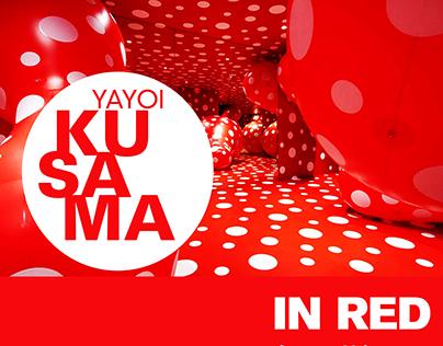 IN RED: Ficticious Yayoi Kusama Exhibition