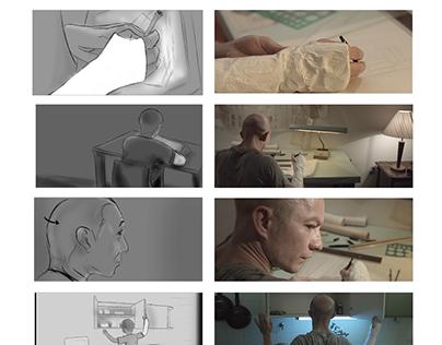 """Storyboard """"Carne de Porco"""" (Lucas Tunes, 2018)"""