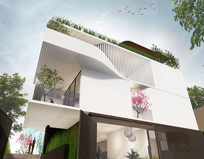 Fluxional | Proposed Villa @ Bangalore | DOT[co]de