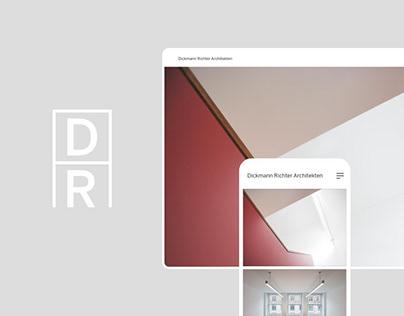 Dickmann Richter Architekten, Architect Website