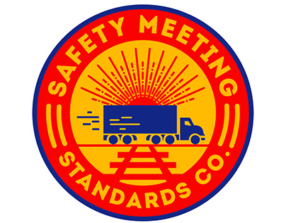Safety Meeting Standards Logo Design