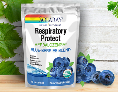 Packaging design for Dietary Supplement/Blue Berries