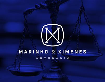 Marinho & Ximenes Law Firm Logo Design