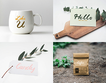 Preview Candy-A Handlettered Brush Font
