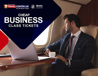Cheap Business Class Tickets