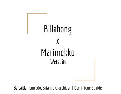 Billabong X Marimekko