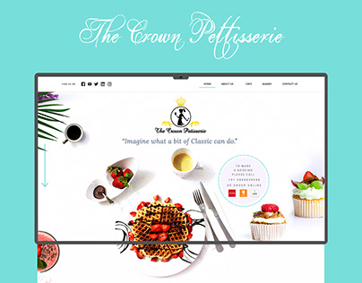 The Crown Pettiserrie | Website Design | 2018