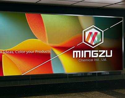 明儒工業 Mingzu LOGO/展場背板設計