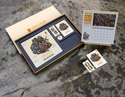 Bộ lịch tranh khắc gỗ về các làng nghề truyền thống
