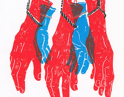 United We Stand: Political Screen Print
