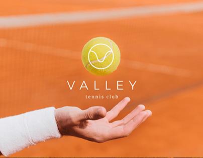 VALLEY - Tennis club visual identity