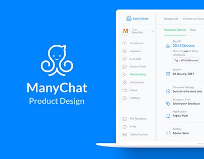 ManyChat - Messenger Marketing Platform