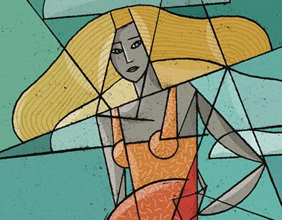 Cubist Ladies #2