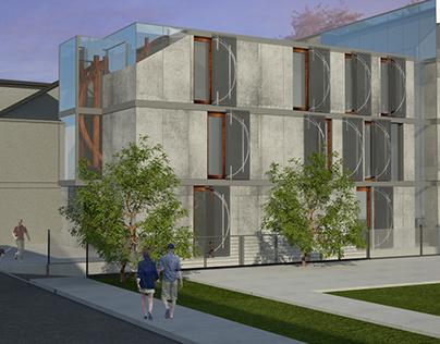 Revitalization of tenement house: retirement home