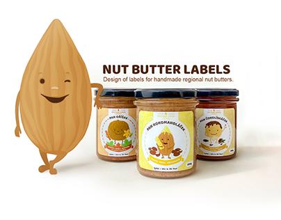 Nut butter labels