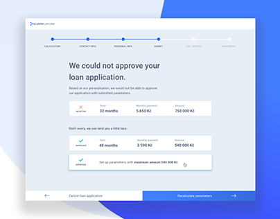 Loan origination platform