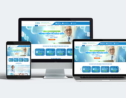 DNA Hospital Website