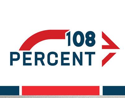 108 PERCENT LOGO .V2