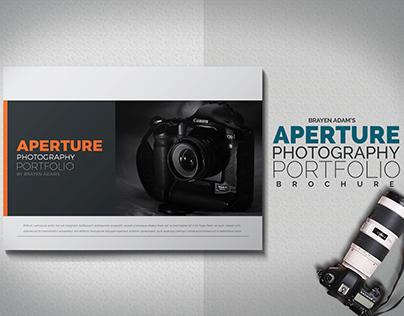 Aperture - photography portfolio brochure