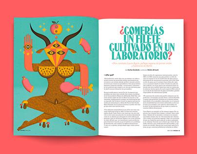 Yorokobu Mag illustrations VI