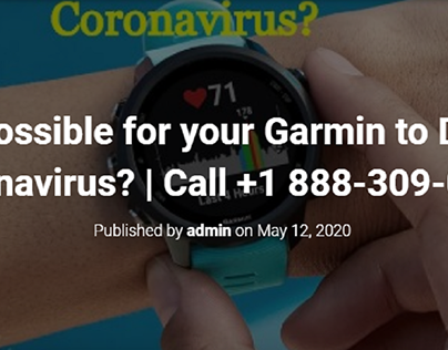 Is it Possible for your Garmin to Detect Coronavirus?