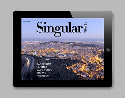 Singular Travel | Interactive magazine