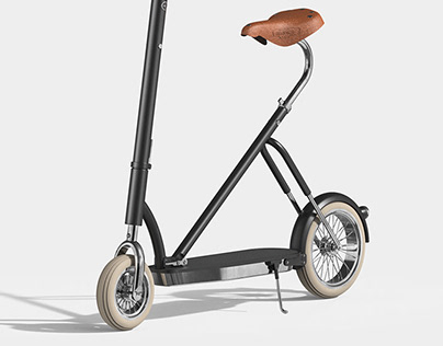 Remake Velocino bike_electric kickboard