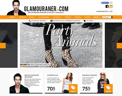 Screendesign Glamouraner.com