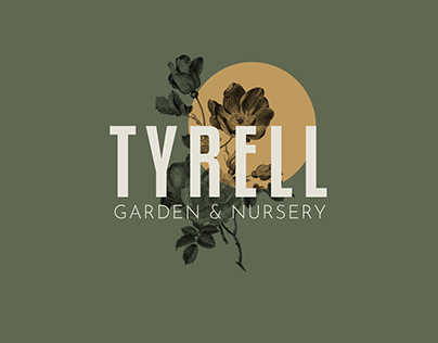 TYRELL Garden & Nursery Style Guide [mock up]