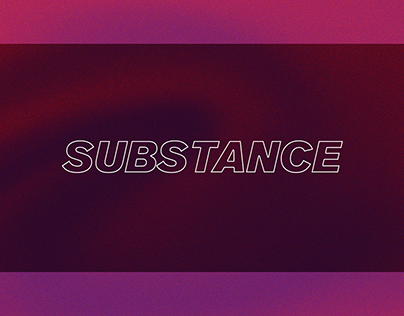 SUBSTANCE - Photography project